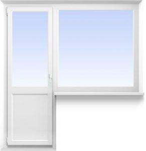 Балконный блок 2100*2100 от 10400 руб.